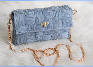 Organze Kurdeleden Çanta Yapımı - Nakış - çanta yapımı çanta yapımı kolay el işi çanta yapımı elde çanta yapımı işleme çanta modelleri