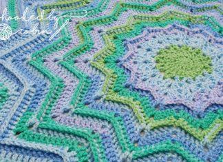 Yuvarlak Zikzak Battaniye Yapılışı - Örgü Bebek Battaniyesi Modelleri - bebek battaniyesi modelleri bebek battaniyesi örgü modelleri renkli zikzak battaniye zikzak battaniye modeli yapımı zikzak battaniye nasıl yapılır