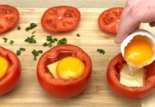 Domatesli Yumurta Kahvaltılık - Yemek Tarifleri - çeşitli kahvaltı tarifleri domates kapama domatesli kaşarlı yumurta domatesli yumurta kapama kahvaltı domates kahvaltıda domates