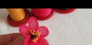 İğne Oyası 3 Boyutlu Çiçek Yapımı - İğne Oyaları - 3 boyutlu iğne oyası 3 boyutlu iğne oyası gül yapımı iğne oyası modelleri iğne oyası üç boyutlu çiçek modelleri iğne oyası üç boyutlu çiçek yapılışı