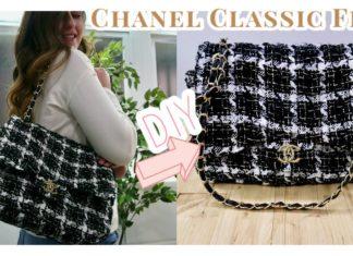 Chanel Çanta Nasıl Dikilir? - Dikiş - bez çanta dikimi el çantası dikimi evde çanta yapımı kot kumaş çanta dikimi