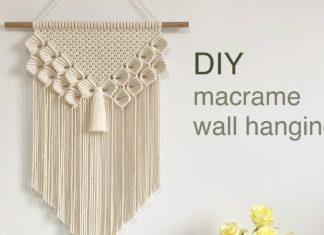 Duvar Dekoru Makrome Duvar Süsü - Kendin Yap - ağaç dalına makrome yapımı makrome duvar süsü yapımı makrome duvar süsü yapımı kolay makrome modelleri ve yapılışları