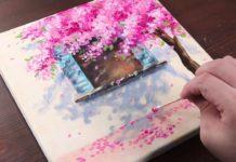 Evde Akrilik Boya Nasıl Yapılır? - Hobi Dünyası - değişik hobiler eğlenceli hobiler karantinada yapılabilecek hobiler kendin yap akrilik boya kendin yap tuval