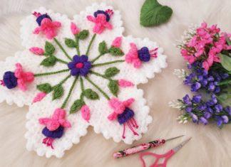 Küpe Çiçeği Lif Modeli Yapılışı - Lif Modelleri - anlatımlı lif modelleri basit lif yapımı güzel lif modelleri lif modelleri anlatımlı yapılışı