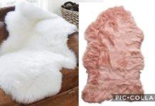 Peluş Halı Nasıl Yapılır? - Dikiş - evde halı yapımı halı yapımı ikea peluş halı post halı tavşan tüyü post halı