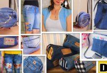 Eski Kotlarla Yapılmış 11 Harika Fikir - Dikiş - ağı yırtılan pantolon nasıl değerlendirilir eski kot geri dönüşüm eski kottan neler yapılır kottan yapılan geri dönüşüm pantolon paçasından ne yapılır