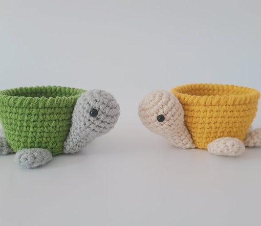 Amigurumi Kaplumbağa Sepet Yapımı - Amigurumi - amigurumi tarifleri kaplumbağa amigurumi tarifi kolay amigurumi tarifleri örgü sepet modelleri