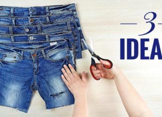 Eski Kot Pantolondan 3 Harika Fikir - Kendin Yap - eski kot pantolon değerlendirme eski kot pantolon geri dönüşüm kot kumaştan geri dönüşüm pantolon paçasından ne yapılır