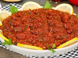 Ezme Tarifi Nasıl Yapılır? - Yemek Tarifleri - acılı ezmenin tarifi domates ezmesi evde ezmesi tarifi kebapçı ezmesi