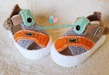 Örgü Sandalet Yapımı Anlatımlı - Örgü Bebek Patik Modelleri - bebek örgü ayakkabı modelleri bebek sandalet bebek sandalet patik yapımı örgü bebek ayakkabı yapımı anlatımlı tığ işi bebek sandalet yapımı yeni örgü ayakkabı modelleri
