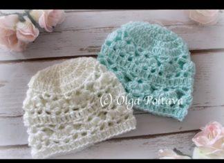 Yeni Doğan Bebek Beresi Yapımı - Bebek Örgü Modelleri - bebek bere yapımı açıklamalı kolay bebek bere yapımı anlatımlı yeni doğan bebek şapkası örgü yeni doğan şapka örgü