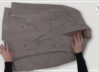 Eski Ceketten Hırka Nasıl Yapılır? - Dikiş - elbise yenileme atma değerlendir eski kıyafetlerden neler yapılır geri dönüşüm kıyafet yapımı giymediğimiz kıyafetler nasıl değerlendirilir