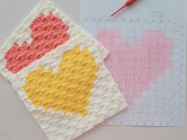 Köşeden Köşeye Kalp Motifi Yapılışı - Örgü Bebek Battaniyesi Modelleri - battaniye modelleri örgü corner to corner battaniye kolay battaniye yapımı kolay bebek battaniyesi modelleri